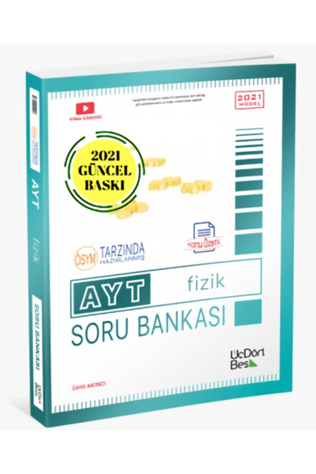345 Yayınları - AYT Fizik - Soru Bankası