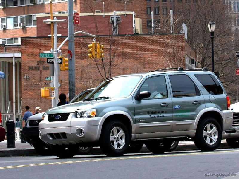 2005 ford escape hybrid specifications pictures prices for Motor ford escape 2005