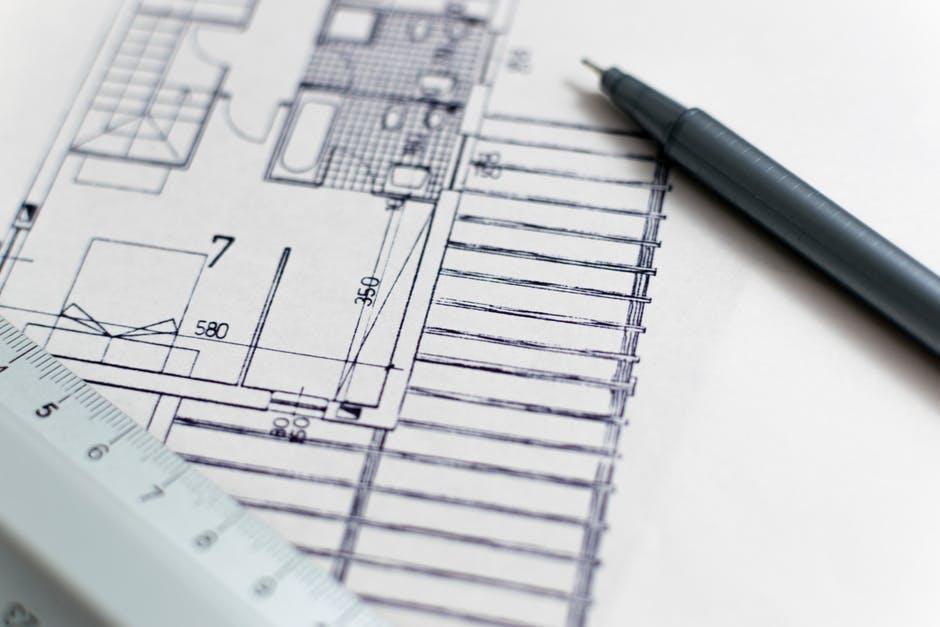 architectural design, architecture, blueprint