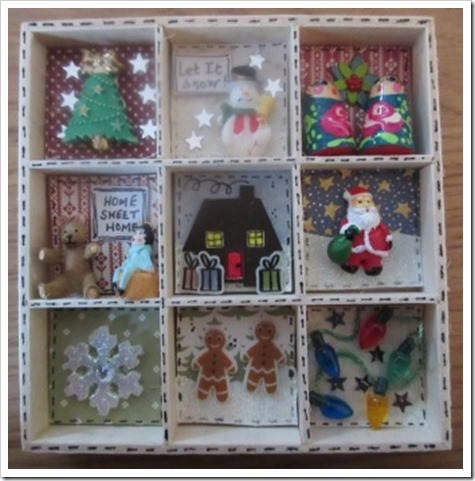Mini Christmas Printers Tray Decoration...