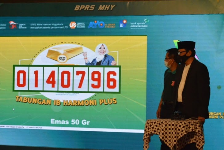 PT. BPRS Mitra Harmoni Yogyakarta Gelar Gebyar Undian Tabungan iB Harmoni Plus