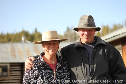 Steve and Sherri Gully, Owners of the Sheep Crick Ranch