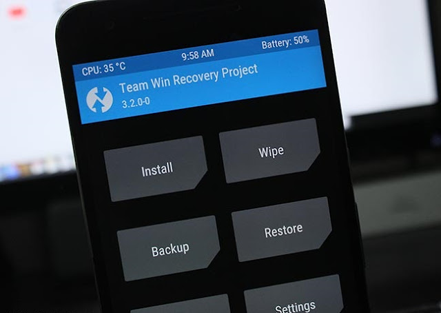 Installing TWRP on Android without root