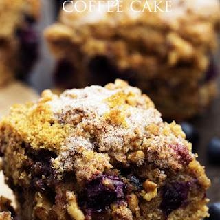 Skinny Blueberry Coffee Cake Recipe