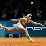 STUTTGART, GERMANY - APRIL 22 : Angelique Kerber in action at the 2016 Porsche Tennis Grand Prix