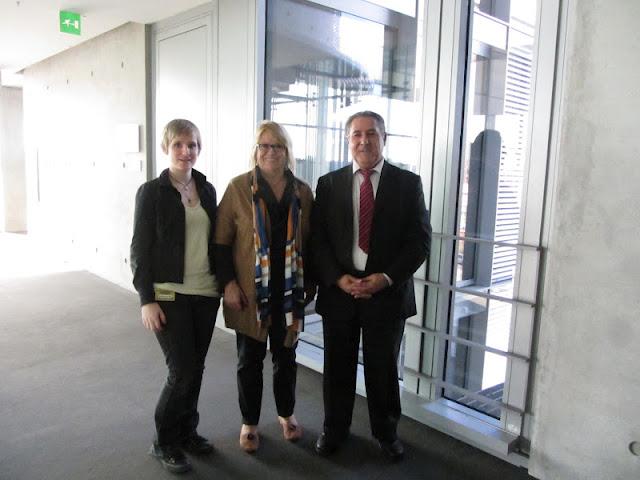 Maleen Schlüter, Angelika Graf, Dr. Kamal Sido