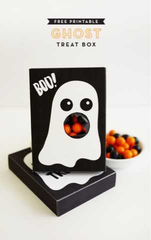 Halloween treat boxes to make