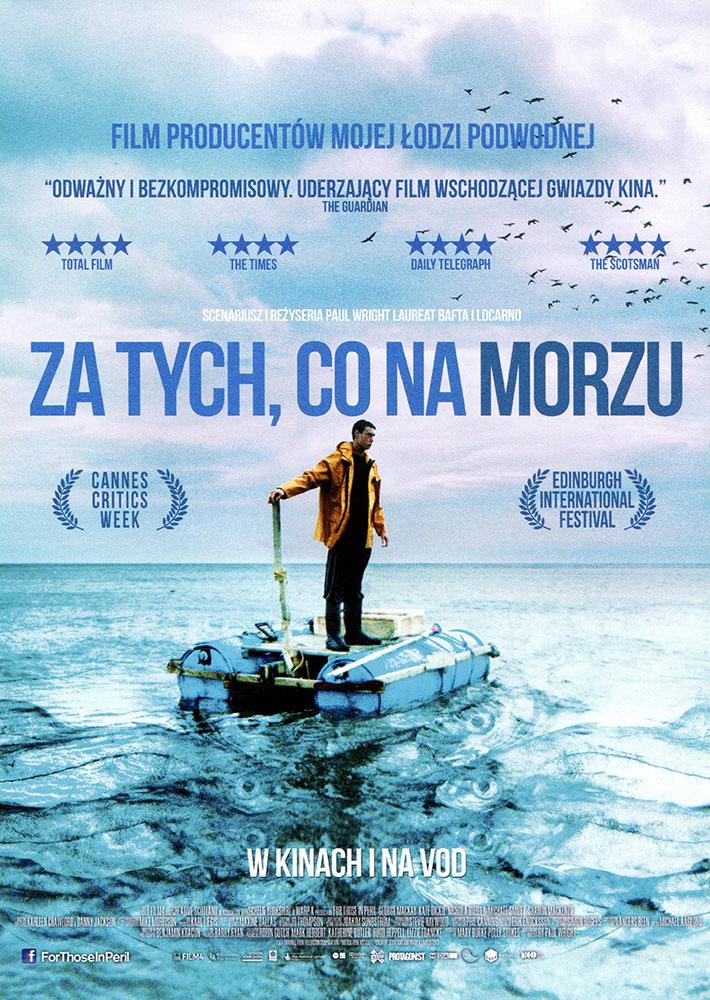 Ulotka filmu 'Za Tych, Co Na Morzu (przód)'