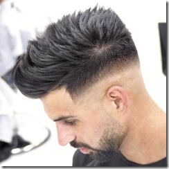 Fade with Long Hair