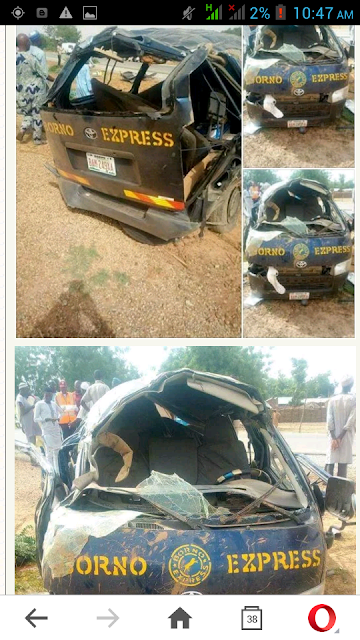 Seven Passengers Killed In Accident On Bauchi Expressway. Photos