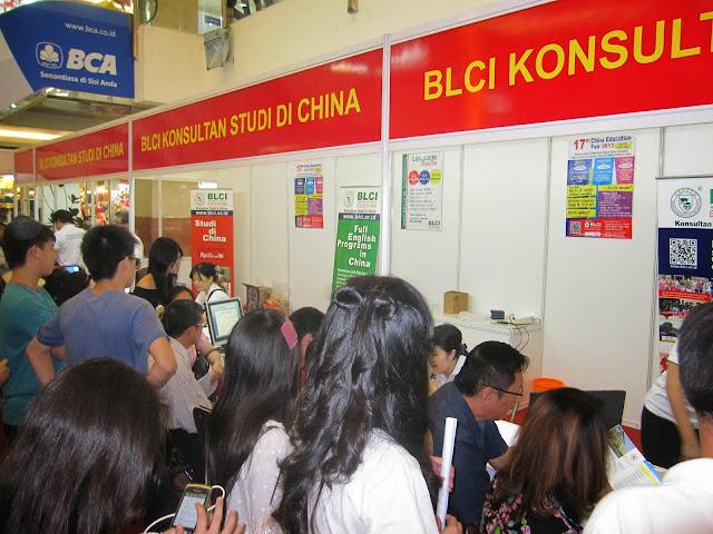 Konsultasi BLCI selama Pameran Pendidikan China/Tiongkok