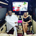 E-money And Wife, Juliet Okonkwo In His N37 Million Mercedes Bus