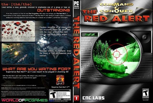 تحميل لعبة ريد اليرت 1 كاملة شرعية مجانا برابط واحد مباشر RED ALERT 1