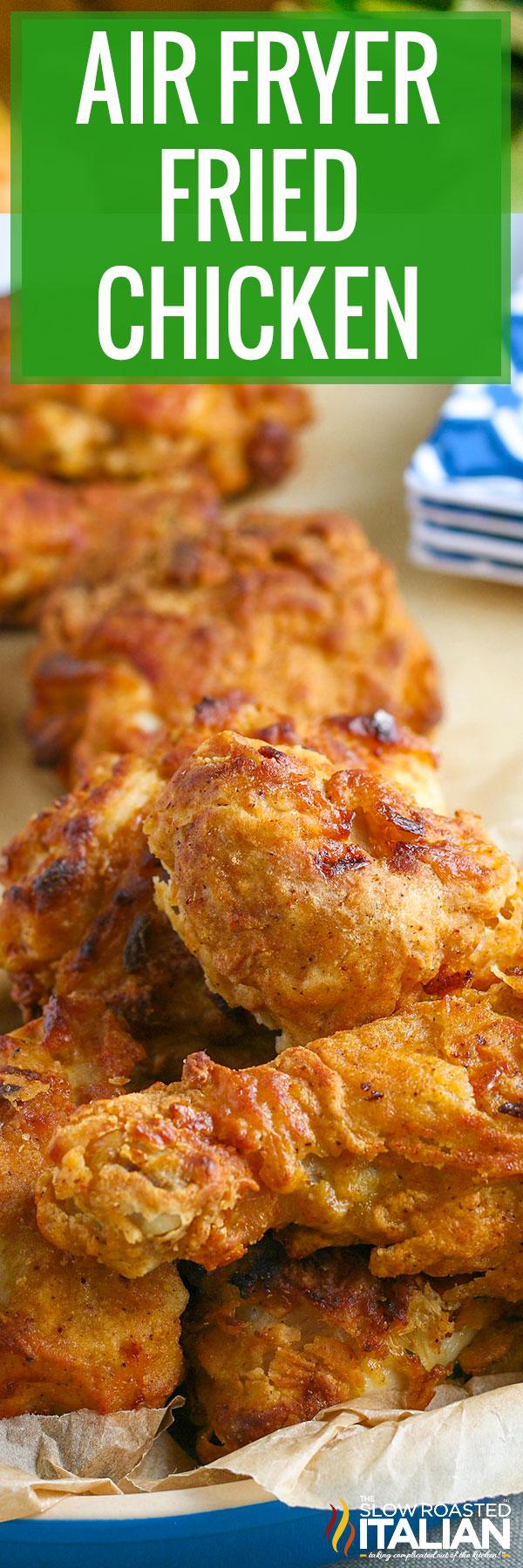 Air Fryer Fried Chicken basket