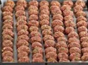 Preheat oven to 400. Mix ground beef with 3/4c breadcrumbs, parm,3 eggs, and milk. Shape into...