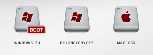 nama entri boot menu hackintosh