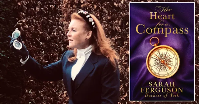 Duchess of York writes racy novel inspired by her own love life