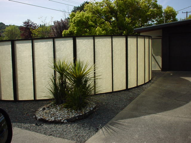 Mid2mod Mid Century Landscaping Fencing