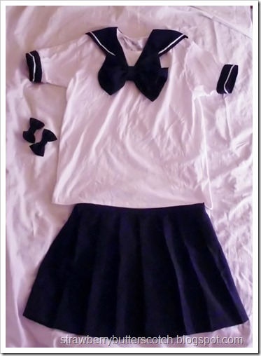 Sailor Moon? No, Just a Uniform: Cute School Uniform