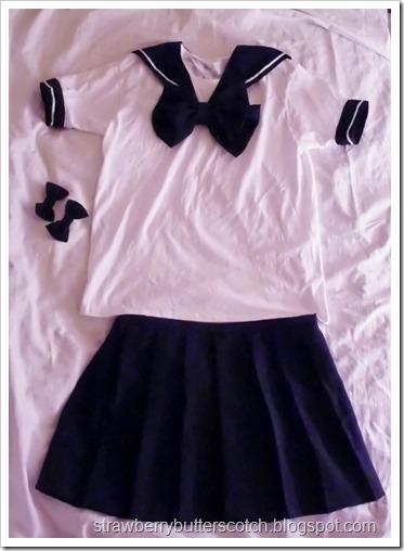 Sailor Moon? No, Just a Uniform: Cute School Uniform