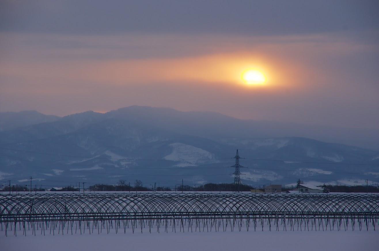 2015年元旦の朝陽