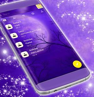 Volný 2017 Purple SMS Téma - náhled