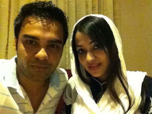 Habib and his wife