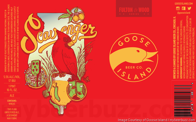 Goose Island Scavenger Coming To Fulton & Wood Series Cans