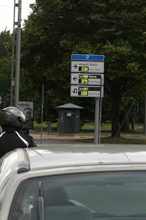 Paneli na kojima se vidi koliko ima praznih parkirnih mjesta na pojedinim lokacijama
