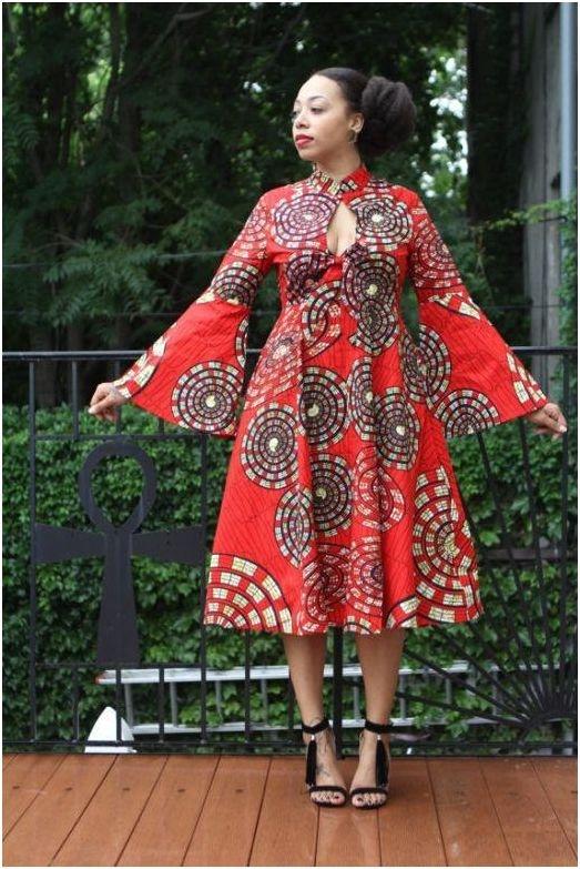The Best Kitenge Dress Designs For Women 2017 Fashion 2d