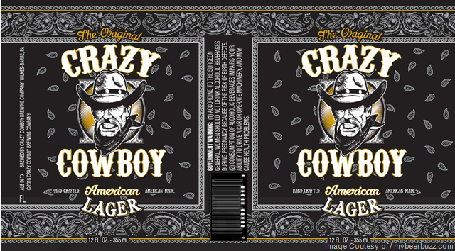 Lion Brewery - Crazy Cowboy American Lager Cans