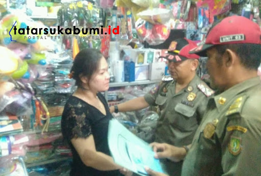 Pasca Ledakan Mercon di Pasar Sukabumi, Satpol PP Periksa Izin Distributor dan SIUP Pedagang