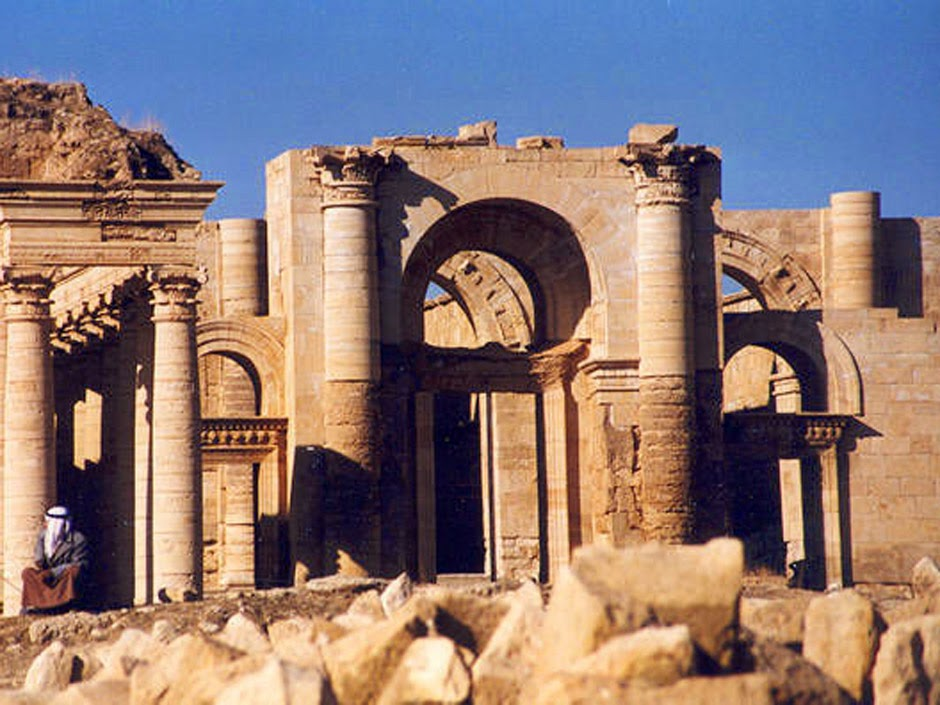 Iraq: Iraqi jihadists seize 'Exorcist' temple at Hatra