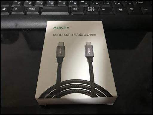IMG 1101 thumb%25255B2%25255D - 【ガジェット】新時代を体験せよ!AUKEY USB Type-Cケーブルレビュー!これが刺せるガジェットの情報もあるよ!