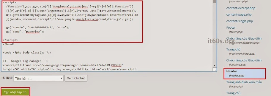 Cách xác minh Website Wordpress trong Webmaster tools 15