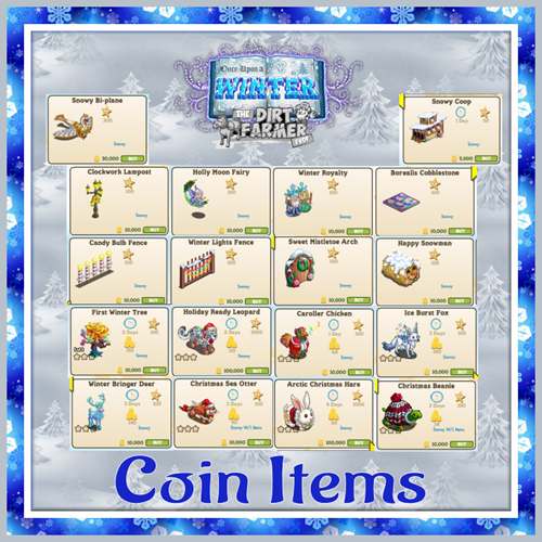 OUAWcoin items