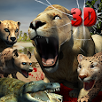 Safari Predator Game 3D - Animal Simulator icon