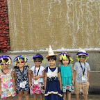 Its the Hat Day at WIS (Jr.KG. A & B) 19-8-2015
