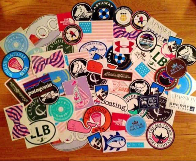 Simply Living Preppy: How to Get Free Preppy Stickers!