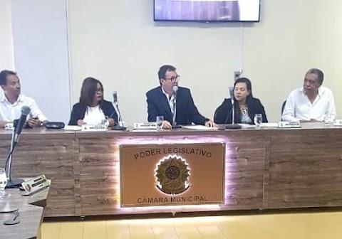 PREFEITO DR EVERTON COSTA PARTICIPA DA PRIMEIRA SESSÃO DE 2020 NA CÂMARA DE VEREADORES DE TRINDADE