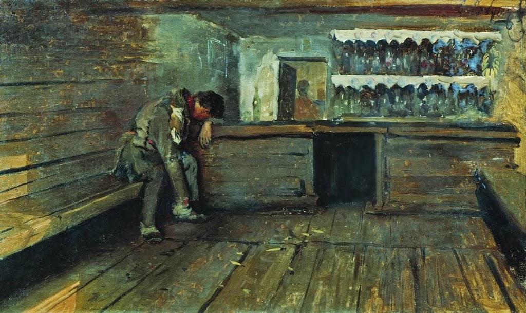 Andrei Ryabushkin - Tavern