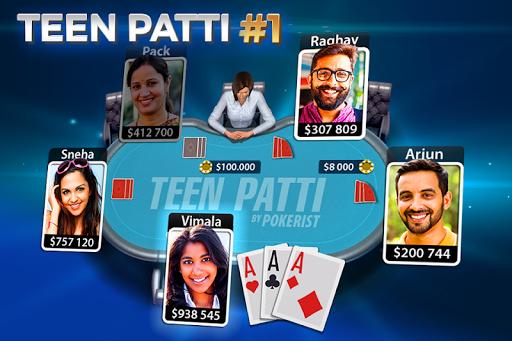 Teen Patti by Pokerist apkmartins screenshots 1
