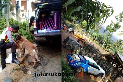Proses Pencarian 24 Korban Longsor Cisolok Sukabumi Hari ke-3