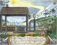 From Christian Friedrich Sendimir Von Siebenstern Chymischer Monden Schein, Alchemical And Hermetic Emblems 1