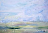"""""""Himmel"""", Öl auf Leinwand, 140x100, 2006"""