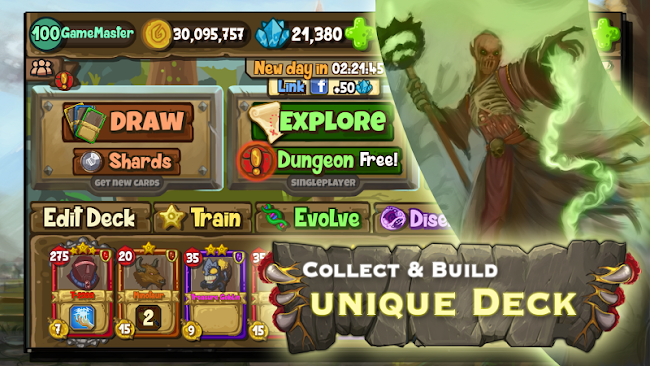 Card Lords - TCG card game- screenshot