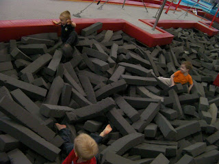 foam filled pit portsmouth gymnastic centre