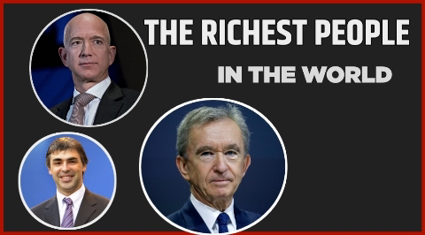 The 10 Richest People in the World in 2021