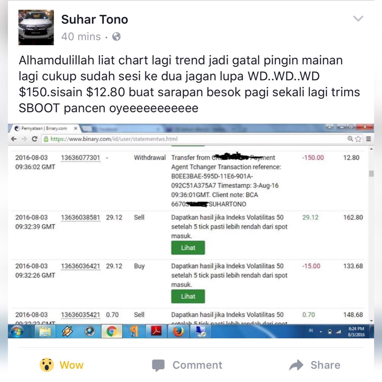 Smart Binary Bot (SBBOT) - Suhartono