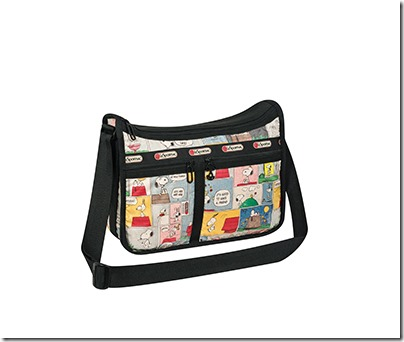 Peanuts X LeSportsac 7507 Deluxe Everyday Bag 04